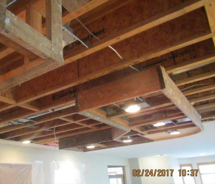 Kitchen Ceiling Removal After