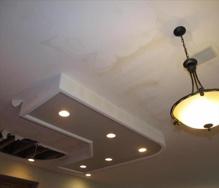 Kitchen Ceiling Removal Before