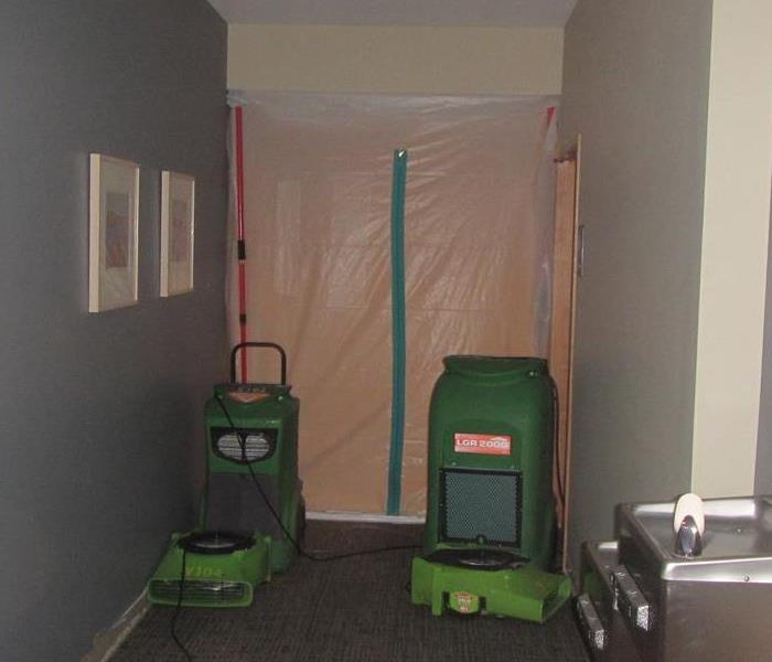Commercial Commercial Water Damage in Bellingham, WA.